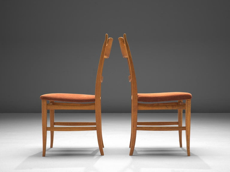 Mid-20th Century Carl Malmsten Large Set of Dining Chairs For Sale