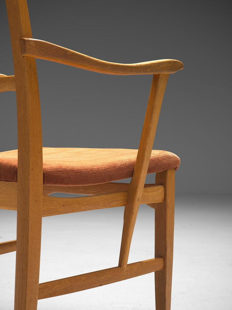Carl Malmsten Large Set of Dining Chairs For Sale 1
