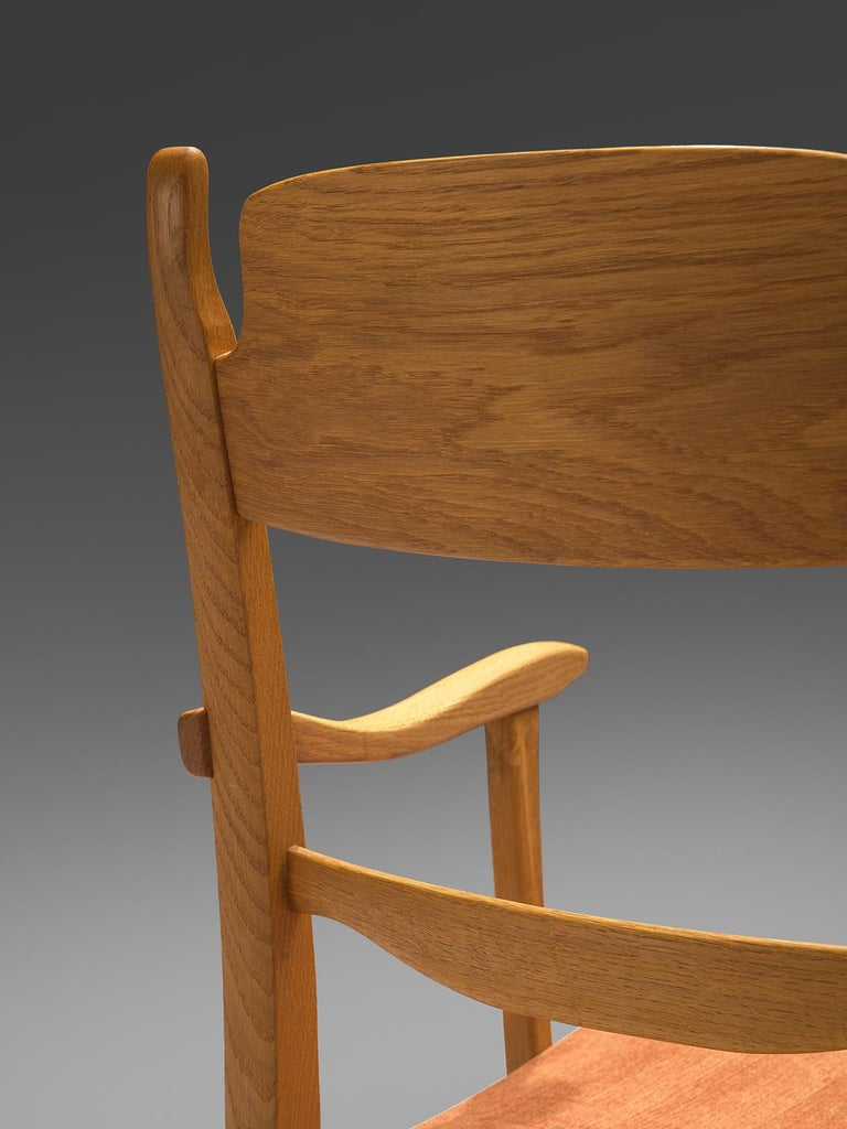 Carl Malmsten Large Set of Dining Chairs For Sale 2