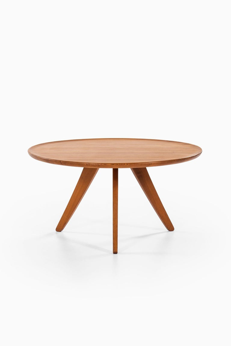 Scandinavian Modern Carl Malmsten Seating Group Produced by Svensk Fur in Sweden For Sale
