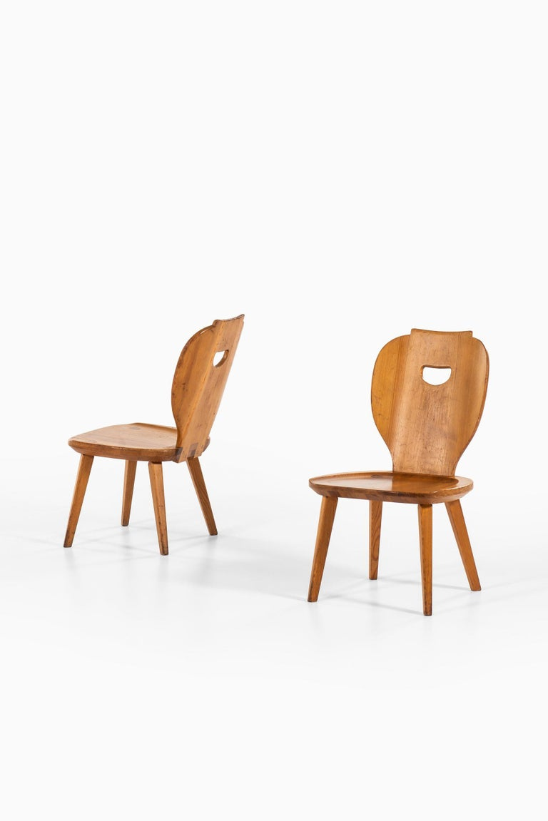 Swedish Carl Malmsten Seating Group Produced by Svensk Fur in Sweden For Sale