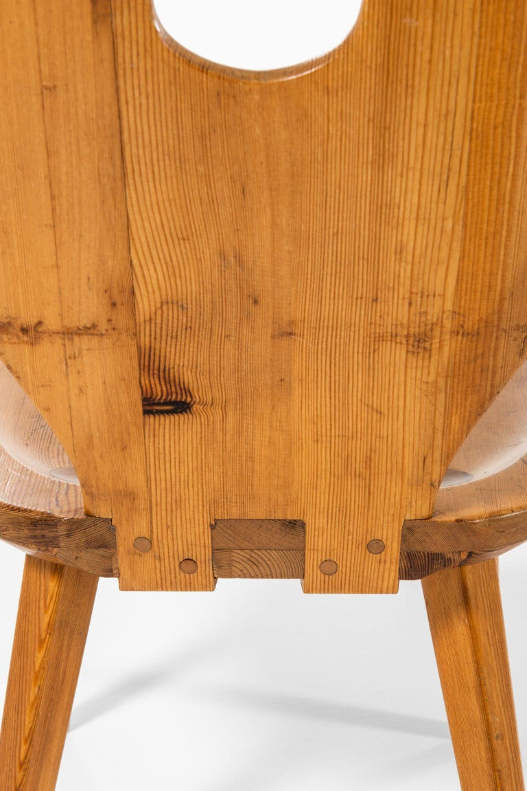 Pine Carl Malmsten Seating Group Produced by Svensk Fur in Sweden For Sale