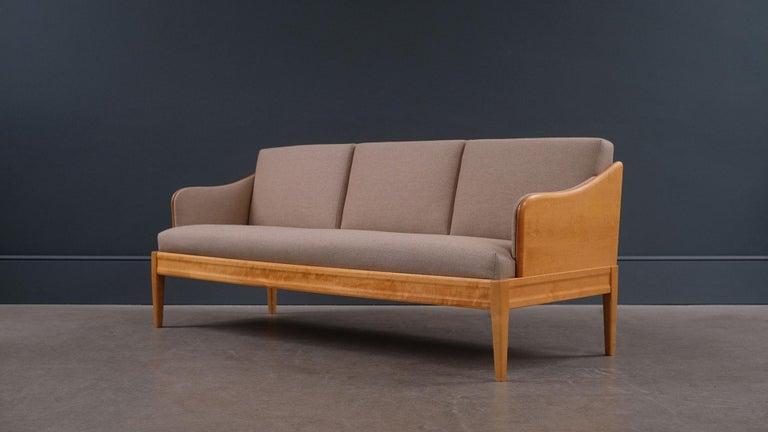Scandinavian Modern Carl Malmsten Sofa / Daybed For Sale