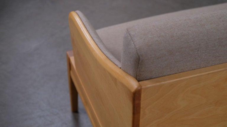 Birch Carl Malmsten Sofa / Daybed For Sale