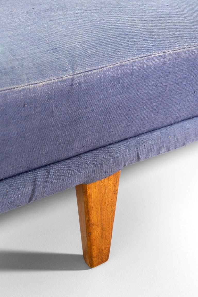 Scandinavian Modern Carl Malmsten Sofa Model Berlin Produced by Carl Malmsten in Sweden For Sale