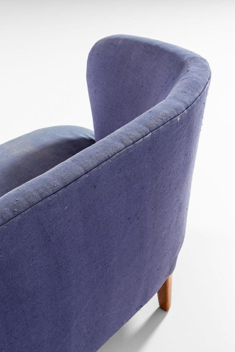 Carl Malmsten Sofa Model Berlin Produced by Carl Malmsten in Sweden For Sale 1