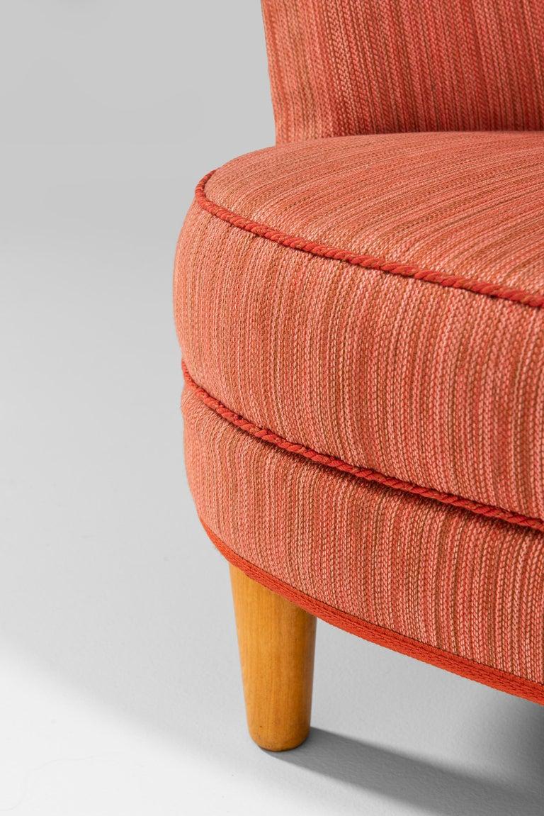 Carl Malmsten Sofa Model Roma Produced in Sweden 3
