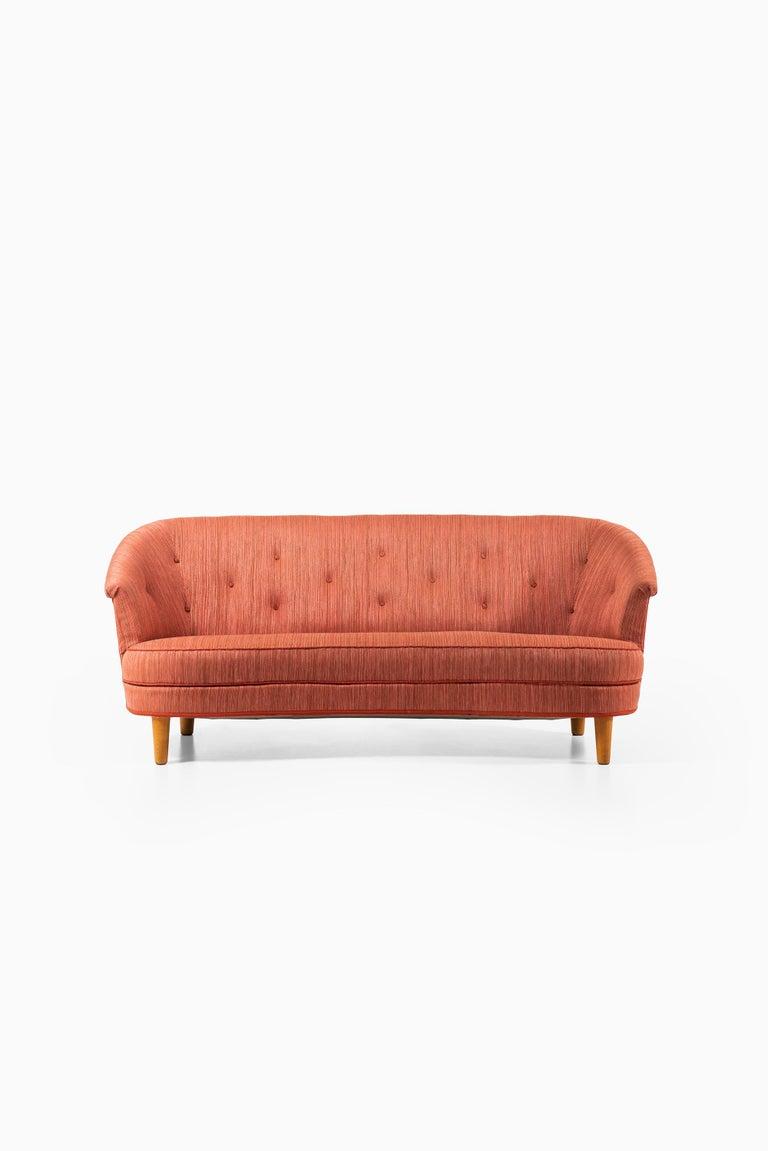 Sofa model Roma designed by Carl Malmsten. Produced in Sweden.