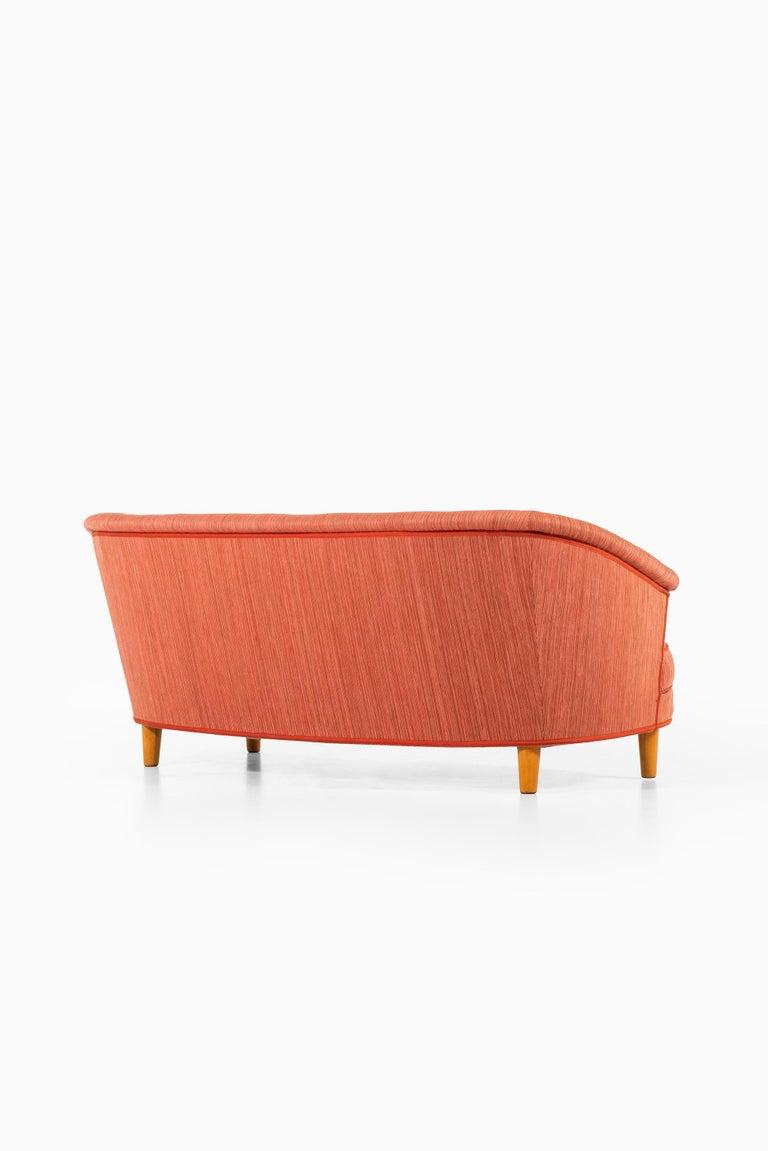 Carl Malmsten Sofa Model Roma Produced in Sweden 1