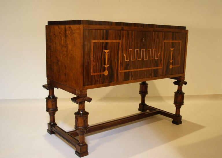 Carl Malmsten Swedish Grace Cabinet, 1920s For Sale 5