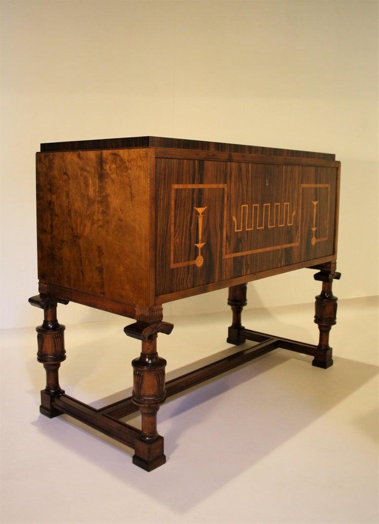 Art Deco Carl Malmsten Swedish Grace Cabinet, 1920s For Sale
