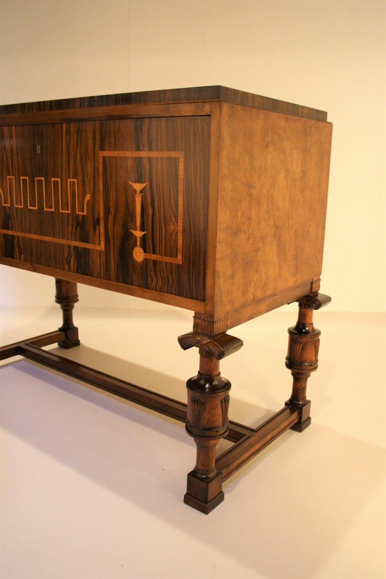 Early 20th Century Carl Malmsten Swedish Grace Cabinet, 1920s For Sale