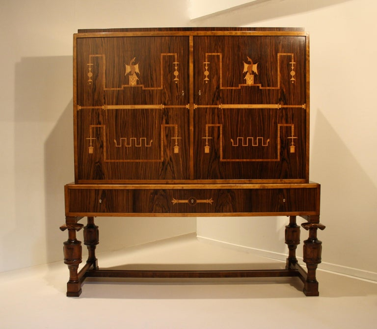 Carl Malmsten Swedish Grace Cupboard, 1920s For Sale 6