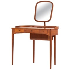 Carl Malmsten Vanity / Lady's Desk Model Birgitta Produced by Bodafors in Sweden