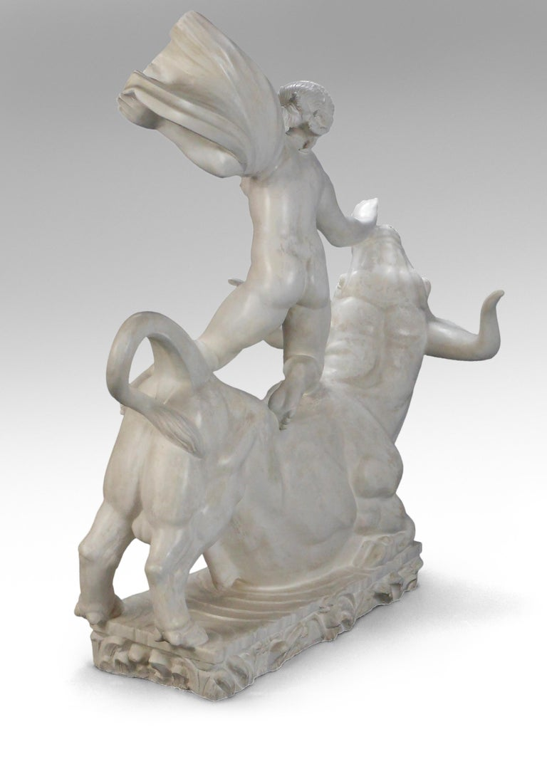 20th Century Carl Milles, Rare Plaster Sculpture of Europa and the Bull For Sale
