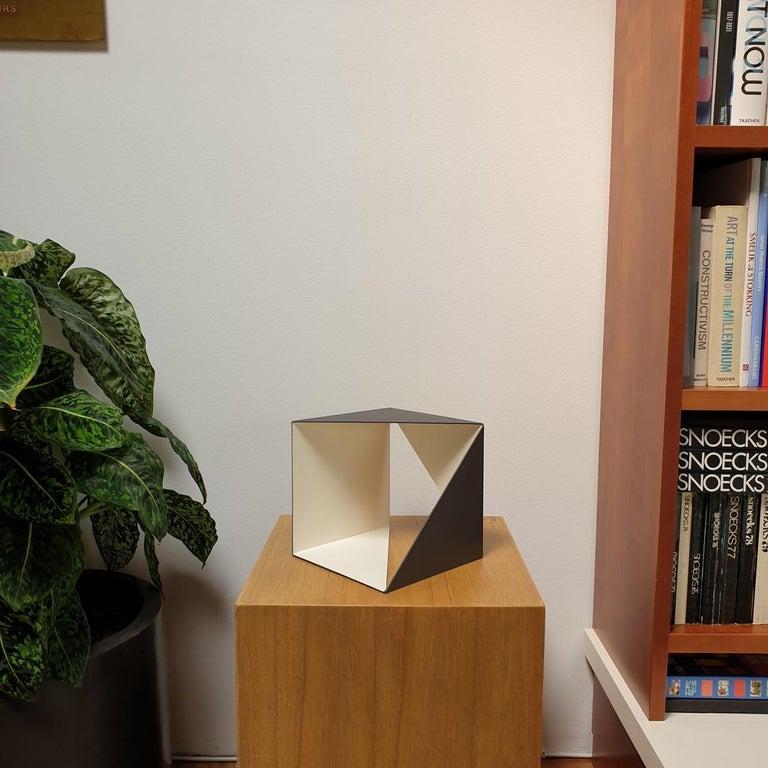 Steel 67 - contemporary modern abstract geometric sculpture - Sculpture by Carl Möller