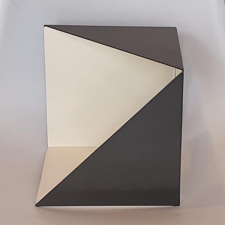Steel 67 - contemporary modern abstract geometric sculpture - Contemporary Sculpture by Carl Möller