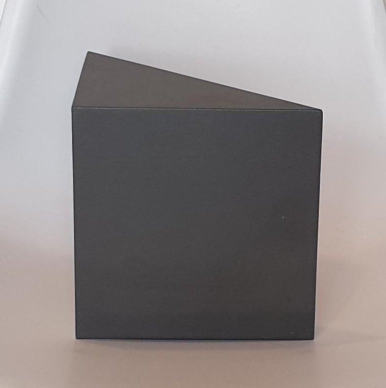 Steel 67 - contemporary modern abstract geometric sculpture For Sale 1
