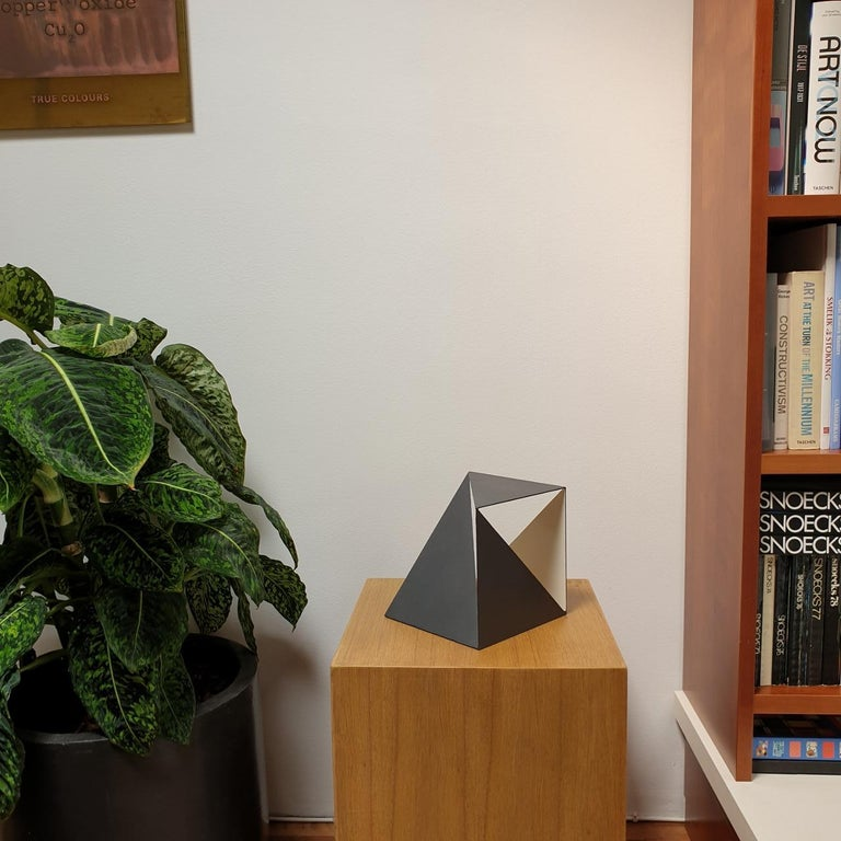 Steel 68 - contemporary modern abstract geometric sculpture - Sculpture by Carl Möller