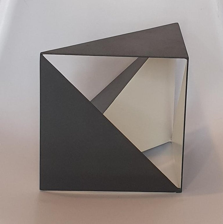 Steel 68 - contemporary modern abstract geometric sculpture - Contemporary Sculpture by Carl Möller