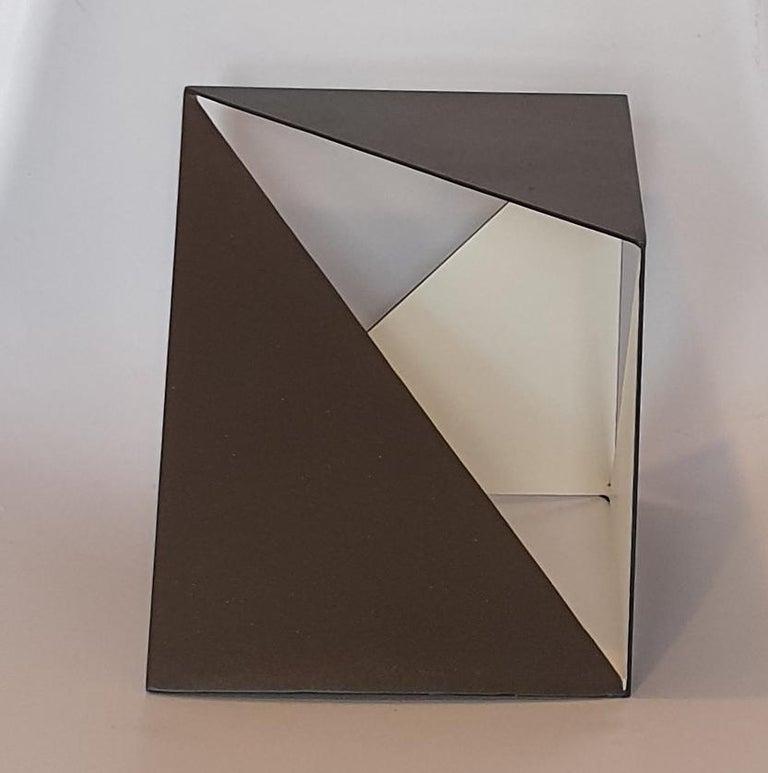 Carl Möller Abstract Sculpture - Steel 68 - contemporary modern abstract geometric sculpture