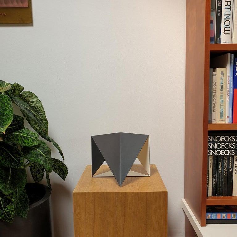 Steel 74 - contemporary modern abstract geometric sculpture - Sculpture by Carl Möller