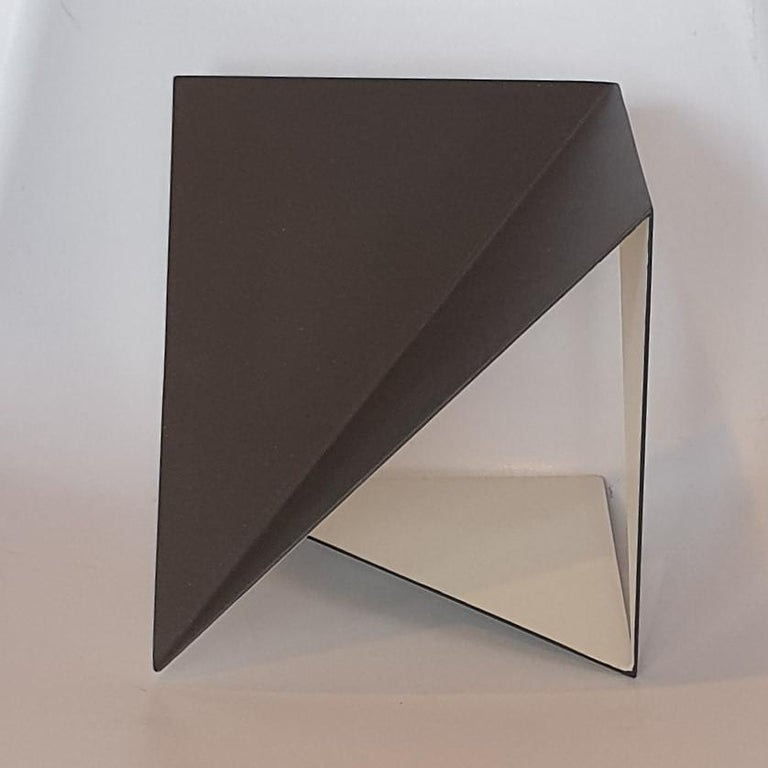 Steel 74 - contemporary modern abstract geometric sculpture - Contemporary Sculpture by Carl Möller