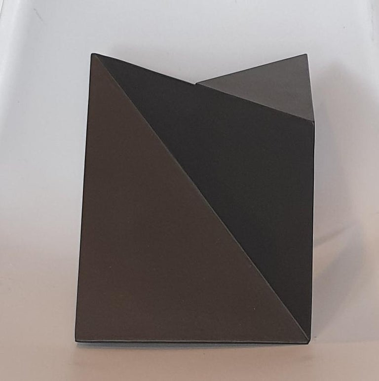 Steel 76 - contemporary modern abstract geometric sculpture - Contemporary Sculpture by Carl Möller
