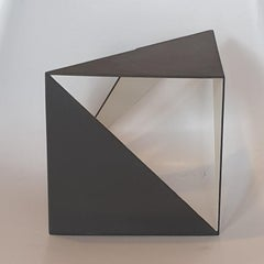 Steel 77 - contemporary modern abstract geometric sculpture