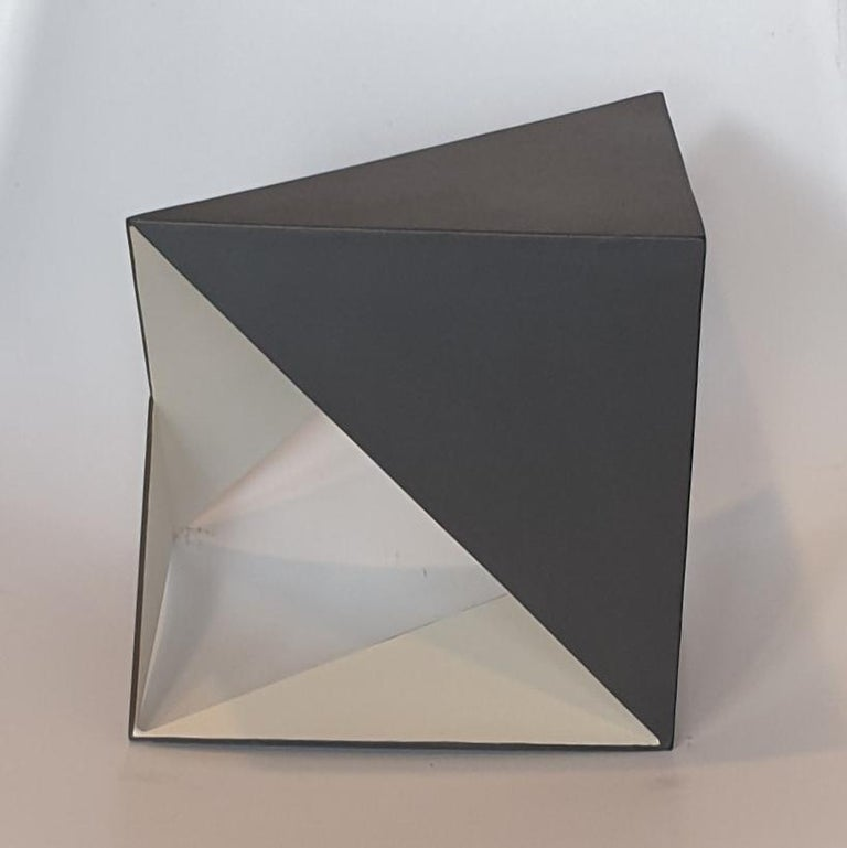 Steel 79 - contemporary modern abstract geometric sculpture - Contemporary Sculpture by Carl Möller