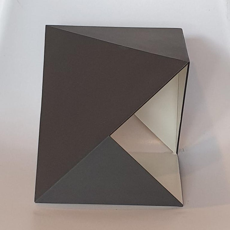 Steel 79 - contemporary modern abstract geometric sculpture For Sale 1