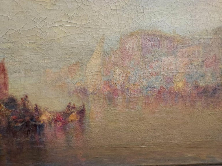 Venise by C.MULLER - Impressionist Painting by Carl Muller