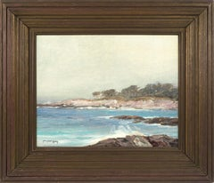 Carmel Beach Plein Air Seascape 1920s