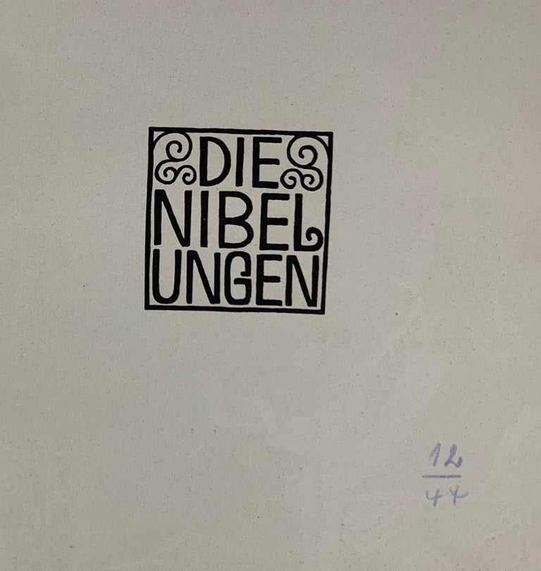 A lovely copy of the second edition of this charming little book, considered the best volume in the popular Gerlachs Jugendbücherei series. Illustrated by Carl Otto Czeschka, a prominent member of the Vienna Secession and a designer for the Wiener