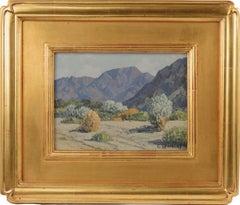 Mid Century Smoke Trees, Palm Springs Landscape