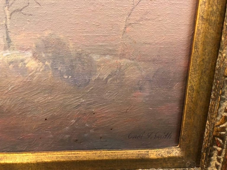 Late 20th Century Carl Smith Painting For Sale