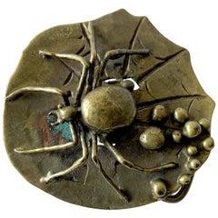 Carl Tasha Bronze Tarantula Spider Belt Buckle