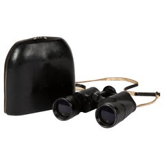 "Carl Zeiss ""Jenoptem"" Binoculars, with Original Black Leather Case"