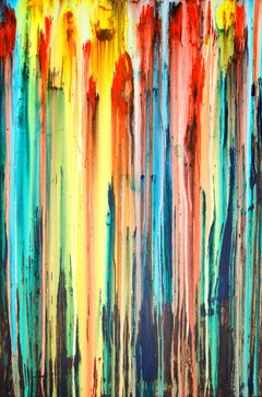 A Crush on Color (#15), Painting, Acrylic on Canvas