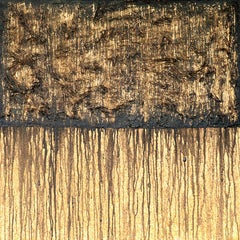 Black Bronze No. 1 (On Cork), Painting, Acrylic on Other