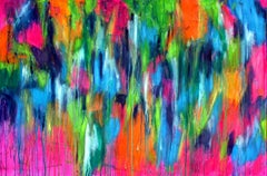 The Emotional Creation #59, Painting, Oil on Canvas