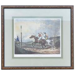 Carle Vernet Le Depart Framed Equestrian Print