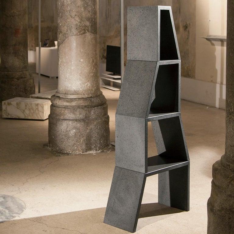Italian Carlino Bookcase by Claudia Carlino For Sale
