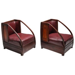 Carlo and Piero Zen Pair of Armchairs, circa 1910