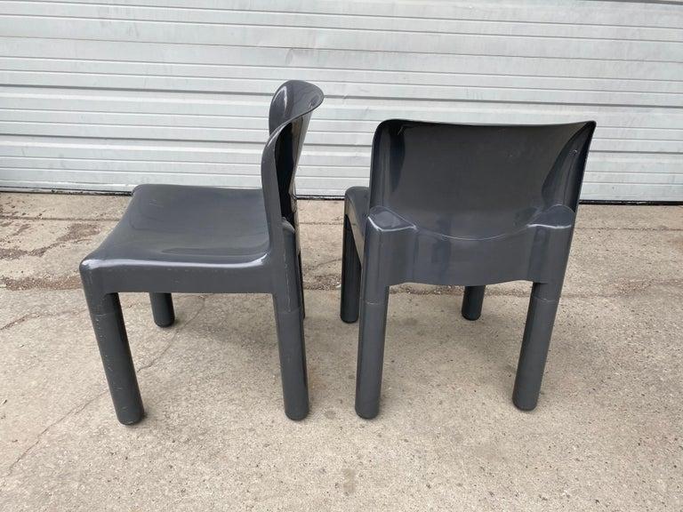 Italian Carlo Bartoli Chair Model 4875 for Kartell, Italy, 1970s For Sale