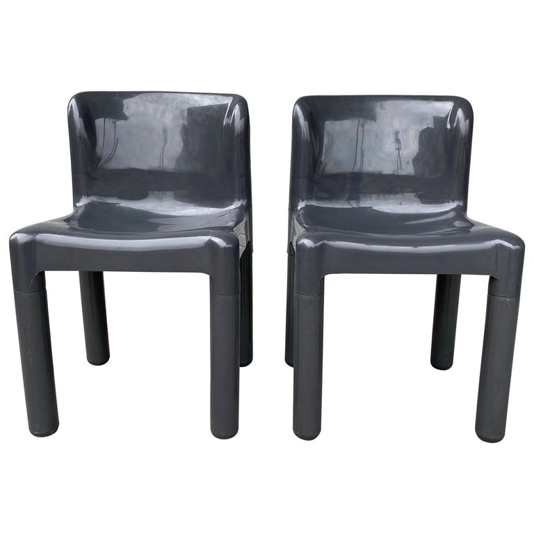 Carlo Bartoli Chair Model 4875 for Kartell, Italy, 1970s For Sale