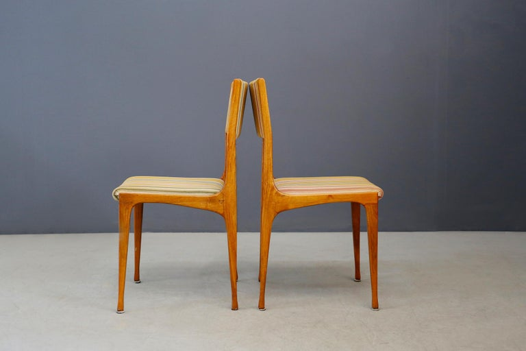 Mid-20th Century Carlo de Carli Chair Midcentury for Cassina Model 693, 1950s For Sale