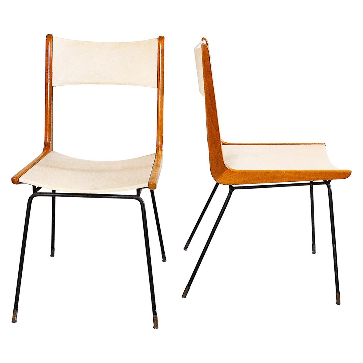 Carlo de Carli Italian Midcentury Chair