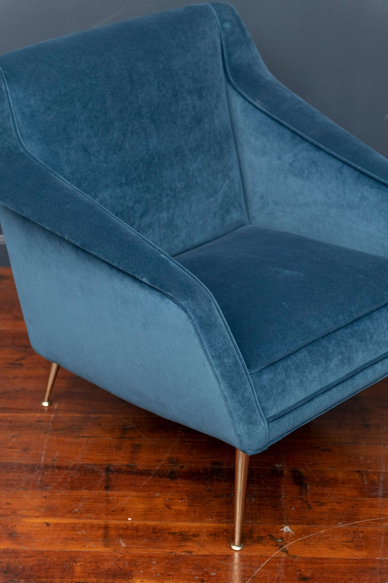 Mid-Century Modern Carlo de Carli Lounge Chair for Singer & Sons For Sale