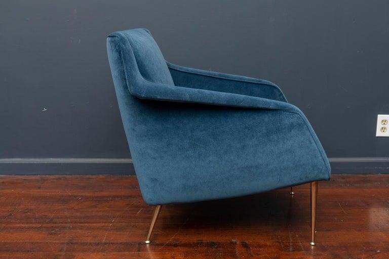 Italian Carlo de Carli Lounge Chair for Singer & Sons For Sale